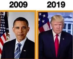 president 10 year challenge