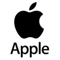 apple logo iphone X