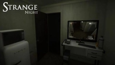 Strange Night logo