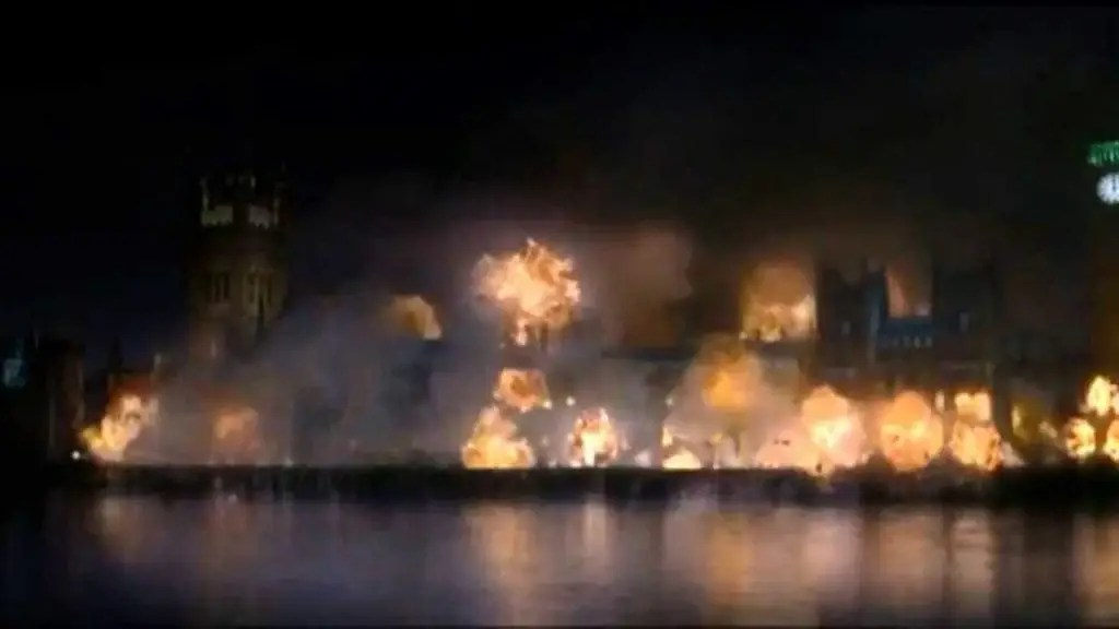parlamento esplode v per vendetta