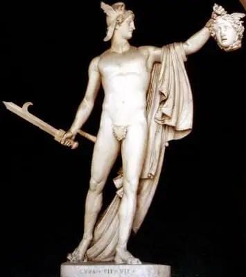 il mito di Perseo e Medusa
