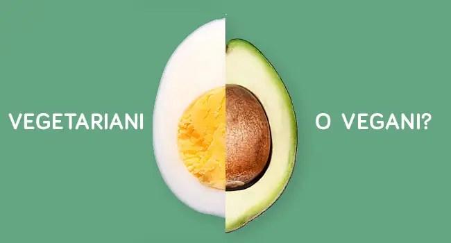 vegetariani o vegani