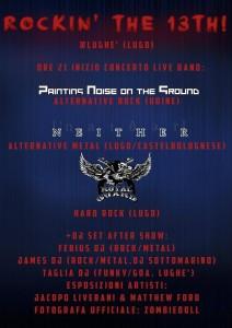 """I PNG suoneranno venerdì 13 novembre al """"Cca Lughè"""" nell'ambito del Rockin' the 13th"""