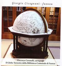 """Il """"globo terrestre"""" di Coronelli. Scianna ha restaurato il """"globo celeste"""", esposto nella sala studio"""