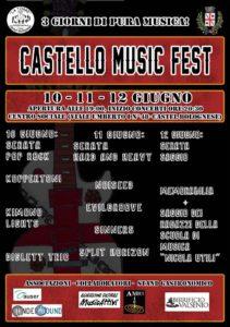 Castello Music Fest_volantino