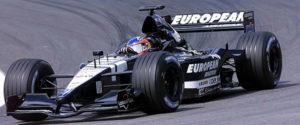 Fernando Alonso sulla Minardi durante il GP del Brasile il 31 marzo 2001.