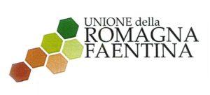 Lo stemma dell'Unione della Romagna faentina: sei esagoni a rappresentare i sei Comuni: 3 di pianura e 3 di collina