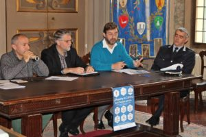 Da sinistra: Sergio Scipi, Giovanni Malpezzi, Enrico Podestà e Paolo Ravaioli.
