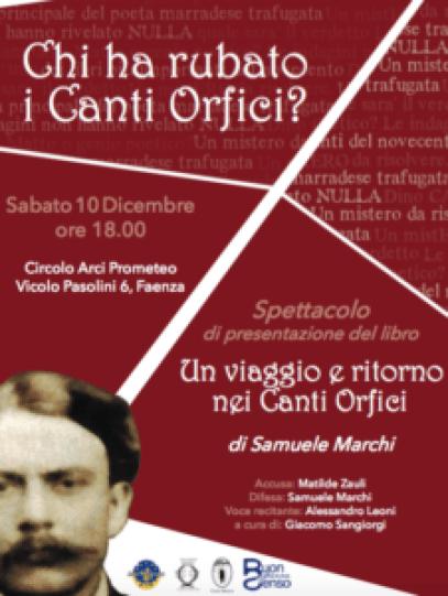 Volantino Dino Campana