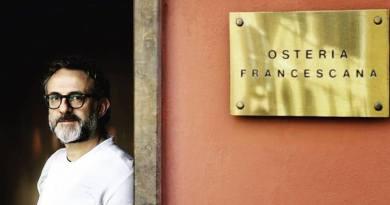 Massimo Bottura Guida Michelin 2018