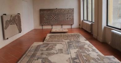 mosaici romani palazzo mazzolani