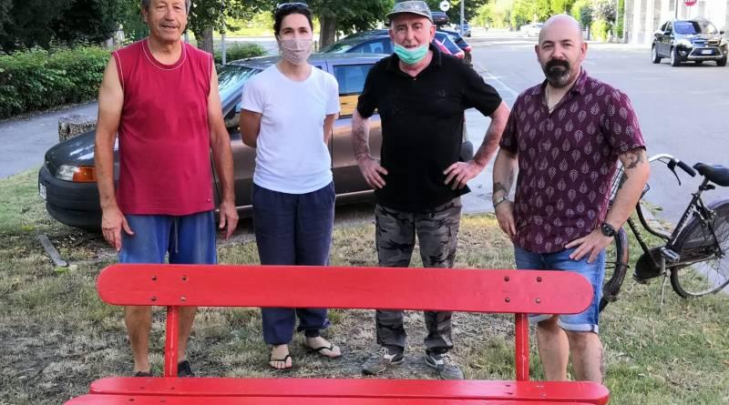 Granarolo panchina rossa