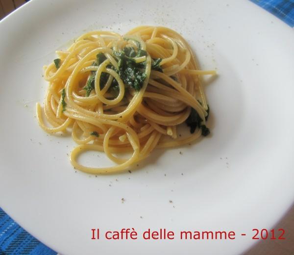 Spaghetti con la borragine