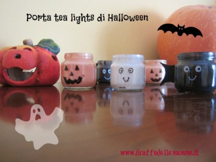 Video tutorial-Porta tea lights di Halloween