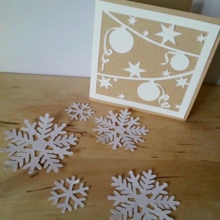 Una card di Natale con la Silhouette Cameo