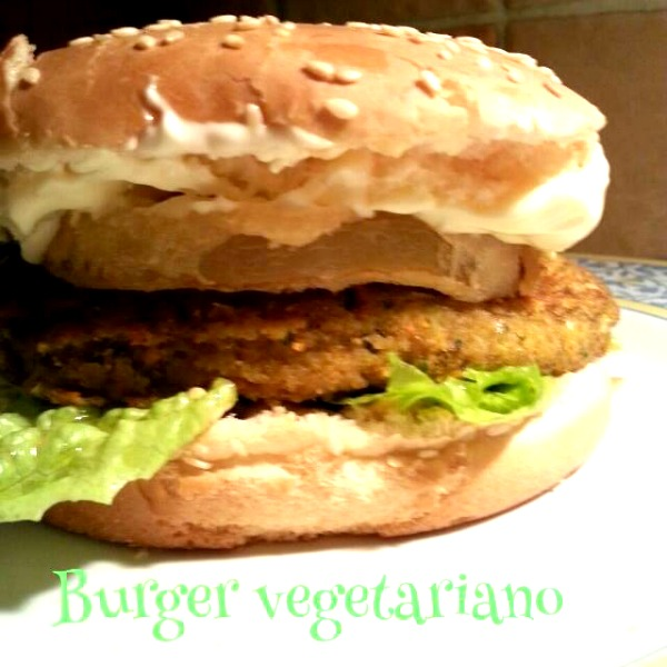 Burger vegetariano
