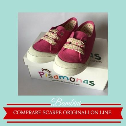 Comprare scarpe originali on line per bimbi