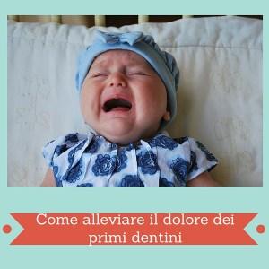 Come alleviare il dolore dei primi dentini con Dentinale di Montefarmaco