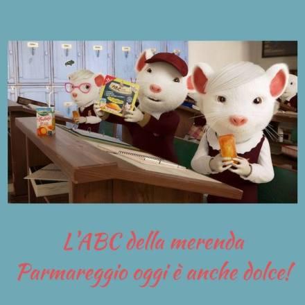 L'ABC della merenda Parmareggio oggi è anche dolce!