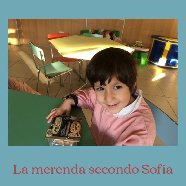 La merenda secondo Sofia