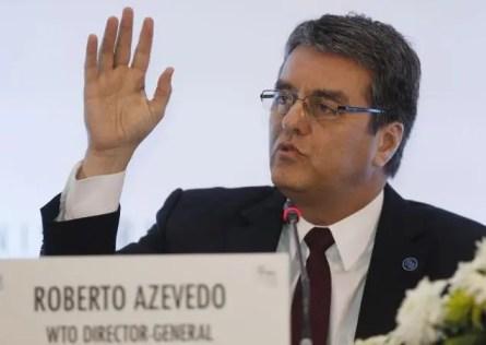 Il direttore generale del WTO, Roberto Azevedo, reduce da un piccolo successo al vertice di Bali