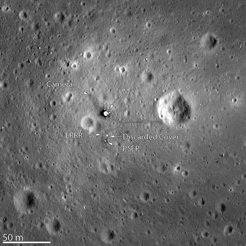 moon landing foto