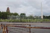 I giardini di Mahabandoola sorgono di fronte al municipio di Yangon, centro politico del paese dal 1885 al 2005.
