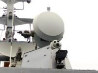 Fig.8 - La torretta optronica Janus sormontata da un sistema di condotta del tiro NA-25X