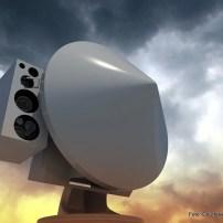 Fig.11 - Impressione artistica del radar di condotta del tiro NA-30s Mk.2