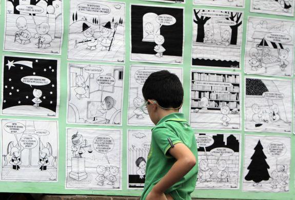 LA GRANDE CASA-Fumetti