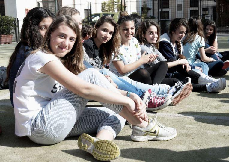 LA GRANDE CASA-Volti ragazze1