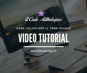 video tutorial tema natale