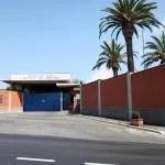 L'ingresso della scuola di polizia