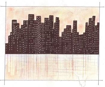 Una città di notte