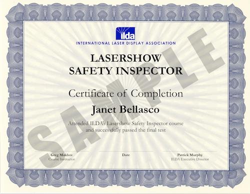Laser Safety Course Information International Laser