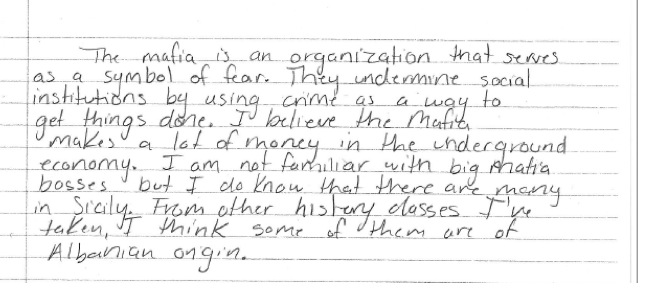 La mafia spiegata ai miei ragazzi gli insegnanti fanno for Cosa mettere sulla madia