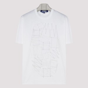 Junya Watanabe - White Cotton T-shirt A - (a) Clothing Xxs@m