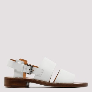Church`s - White Leather Sandals N - (n) Shoes It@40