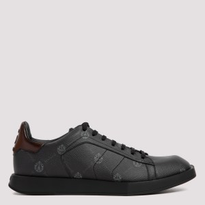 Berluti - Stellar Logo Canvas And Leather Sneakers 7