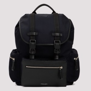 Giorgio Armani - Midnight Blue Tech Fabric Backpack Unica