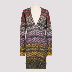 Missoni - Knitted Mini Dress 38