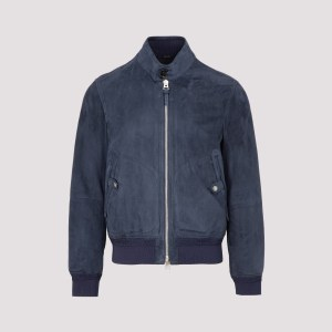 Tom Ford - Tom Ford Light Suede Leather Jacket 50