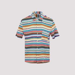 Missoni - Missoni Viscose Ss Shirt Xl