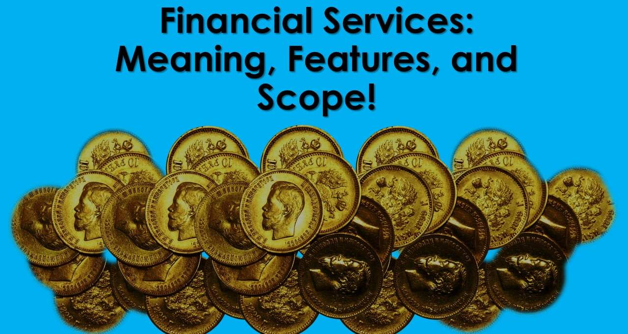 Financial Services Meaning Features and Scope - ilearnlot