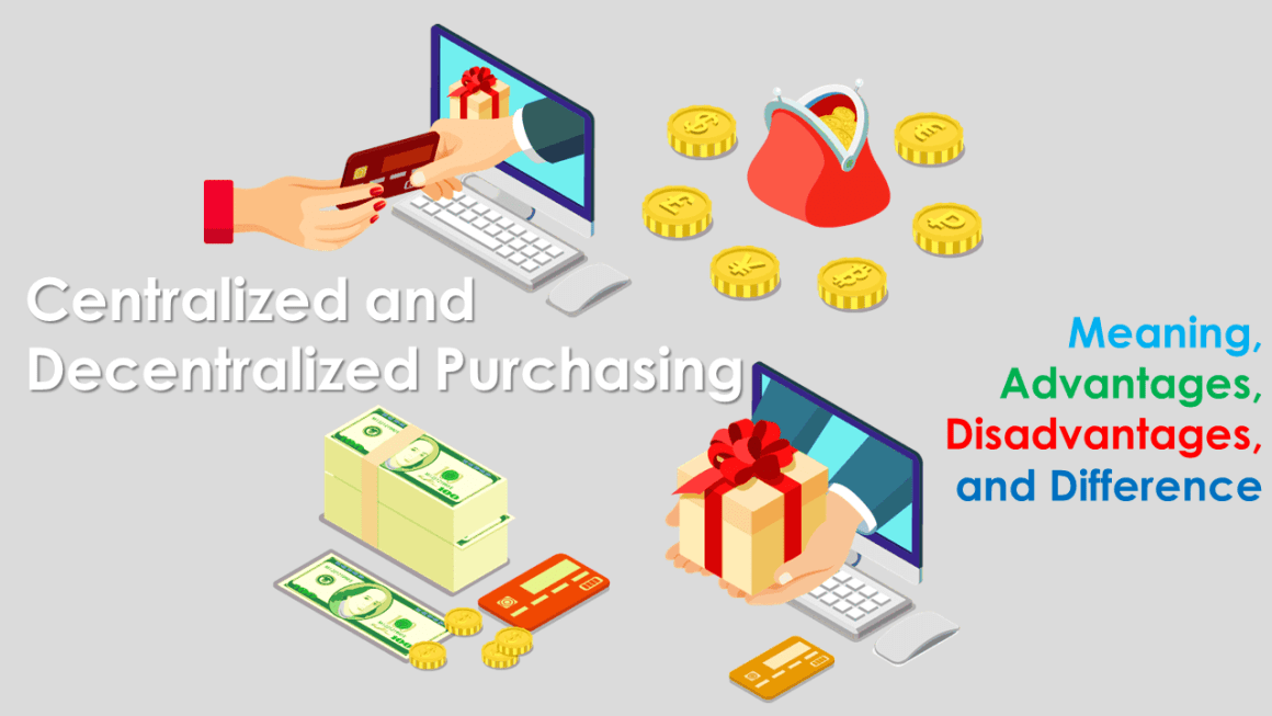 Centralized and Decentralized Purchasing Meaning Advantages Disadvantages and Difference