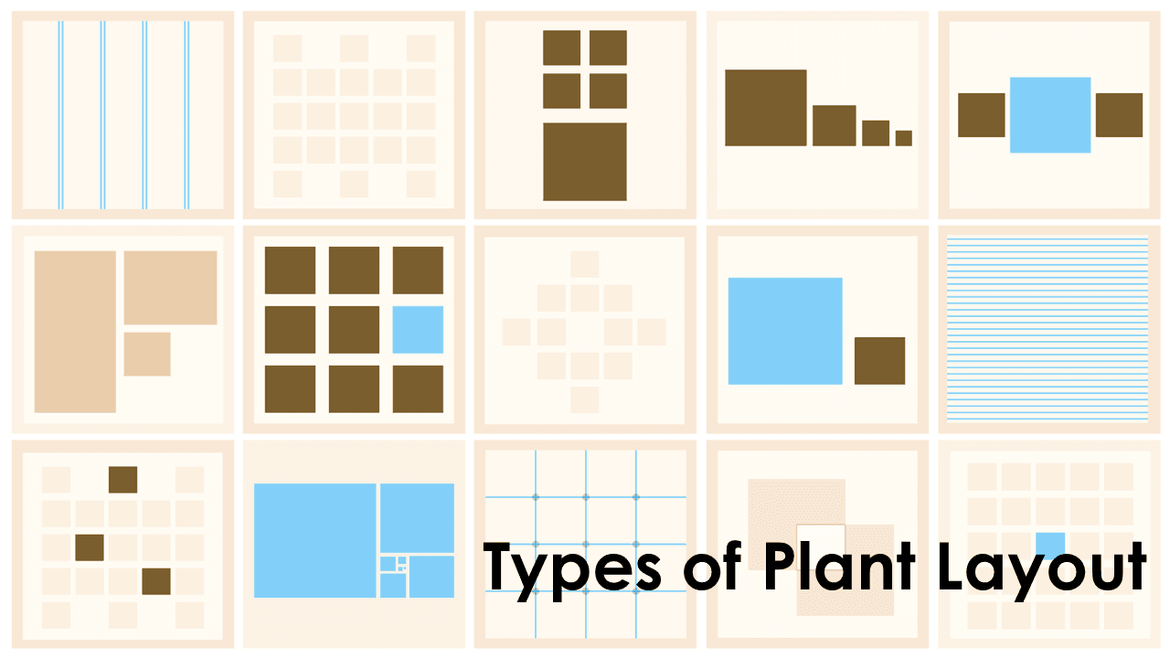 Types of Plant Layout Process Product and Stationary