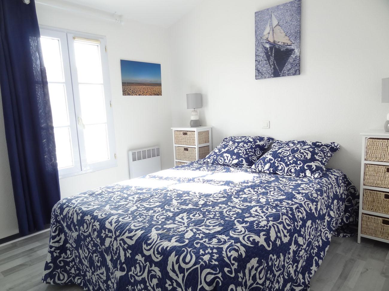 Location Appartement T3 Clapotis Ile de Ré - Chambre 1