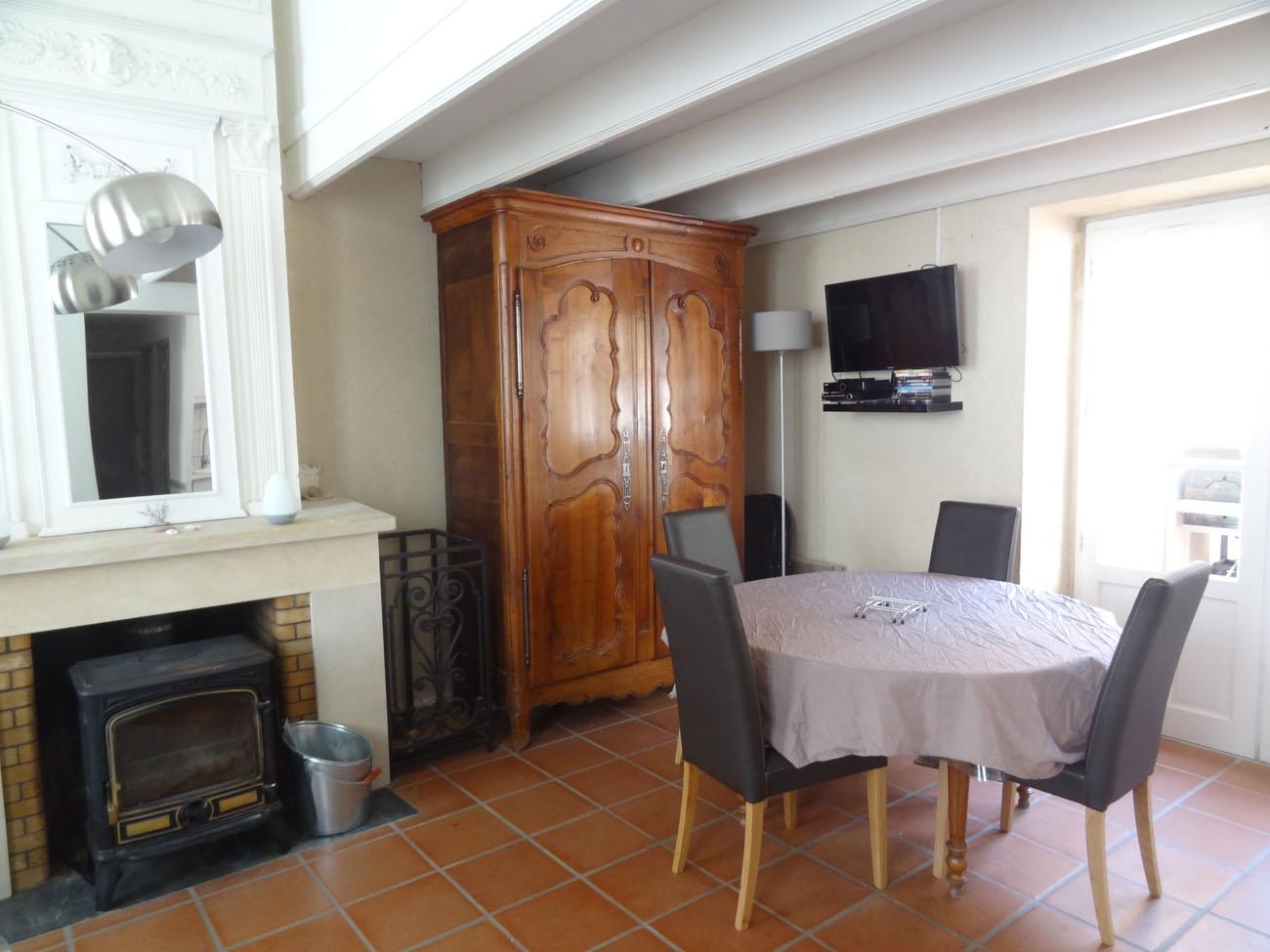 Location Appartement Ile de Ré - Fauvette - Séjour
