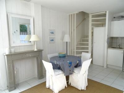 Location Appartement Ile de Ré - Liseron - Salle à manger