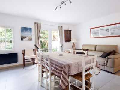 Location Île de Ré -Salon Appartement Marine